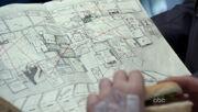 1x19 Mosaic wall drawing