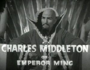 Image result for charles middleton as emperor ming
