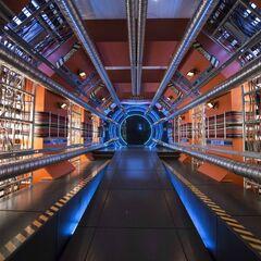 Вход в Ускоритель частиц