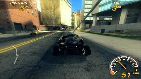 FlatOut 2- Downtown 2