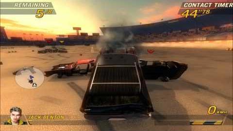 FlatOut 2. Blaster XL derby