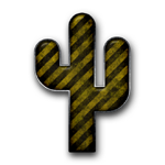 055068-yellow-black-striped-grunge-construction-icon-natural-wonders-cactus-sc48