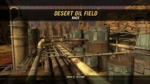 Desert Oil Field