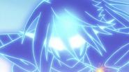 Jinyu's blue aura