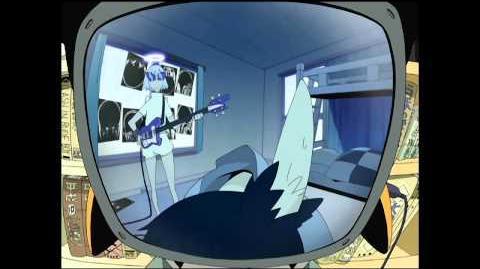 FLCL - Official English Clip - Nurse Haruko delivers the diagnosis.