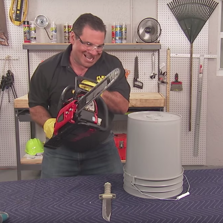 That S A Lot Of Damage Flex Seal With Phil Swift Wiki