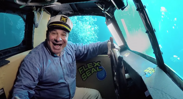 The Flex Seal Submarine Flex Seal With Phil Swift Wiki Fandom
