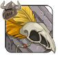 Golden Birdskull Legband