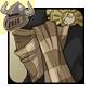 Brass Steampunk Scarf