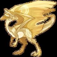 Goldlight Wanderer Skin