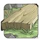 Sanded cedar plank