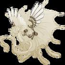 Gold steampunk wings fae m