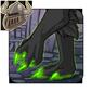 Glowing Green Clawtips