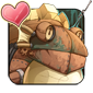 Cog Frog Icon