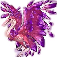 Rhodochrosite Crane