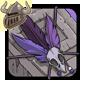 Purple Birdskull Armband