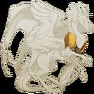 Burnished Gold Pauldrons Skydancer F