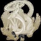 Silver steampunk gloves spiral f