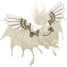Gold steampunk wings fae f