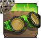 Green Protective Eyewear