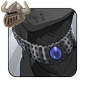 Ornate Darksteel Necklace