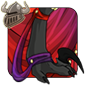 Crimson Leg Silks