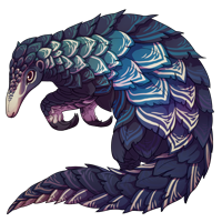 Inscribed Pangolin