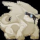 Silver steampunk goggles snapper f