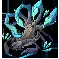 Peacock Scorpion
