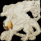 Burnished Gold Pauldrons Skydancer M