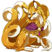 Golden Kitsune
