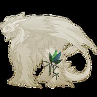 Green birdskull legband tundra f