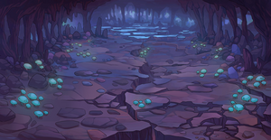 Forgotten Cave Night