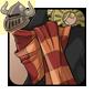 Bronze Steampunk Scarf