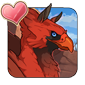 Cardinal Hippogriff Icon