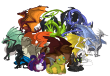 All common dragons