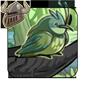 Paunchy Green Percher