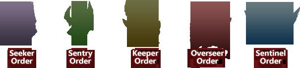 Gaoler society orders