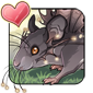 Glowing Pocket Mouse Icon