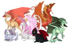 All rare dragons