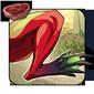 Heartred Croaker Leg