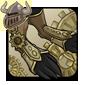 Brass Steampunk Spats