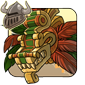 Goldslab Headdress