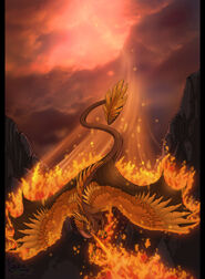 Original version The Fire Lord Burninates by neondragon