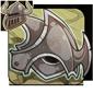 Dented Iron Helmet