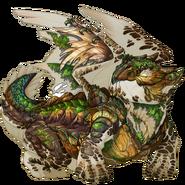Alligator Snapper Turtle Skin