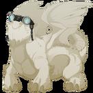 Silver steampunk goggles snapper m