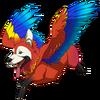 Dwarf Hainu Macaw