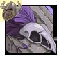 Purple Birdskull Legband