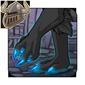 Glowing Blue Clawtips